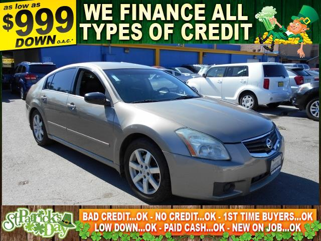 2007 NISSAN MAXIMA 35 SL 4DR SEDAN gray limited warranty included to assure your worry-free purc
