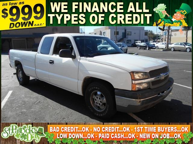 2004 CHEVROLET SILVERADO 1500 C1500 white limited warranty included to assure your worry-free pur
