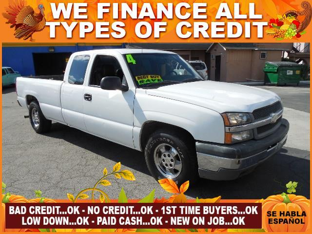 2004 CHEVROLET SILVERADO 1500 white limited warranty included to assure your worry-free purchase