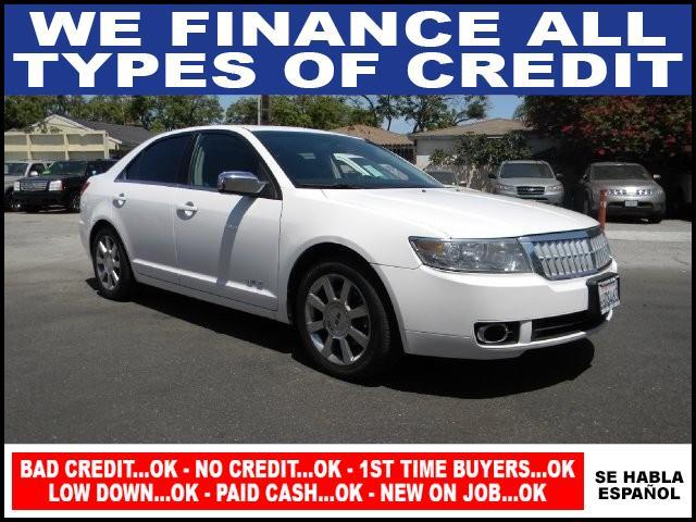 2007 LINCOLN MKZ BASE 4DR SEDAN white limited warranty included to assure your worry-free purchase