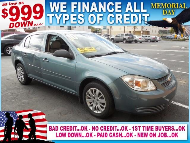 2010 CHEVROLET COBALT LS 4DR SEDAN green limited warranty included to assure your worry-free purc