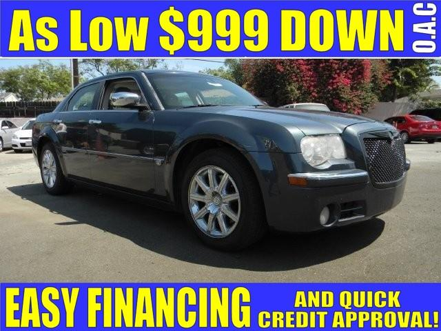 2007 CHRYSLER 300 C 4DR SEDAN gray limited warranty included to assure your worry-free purchase