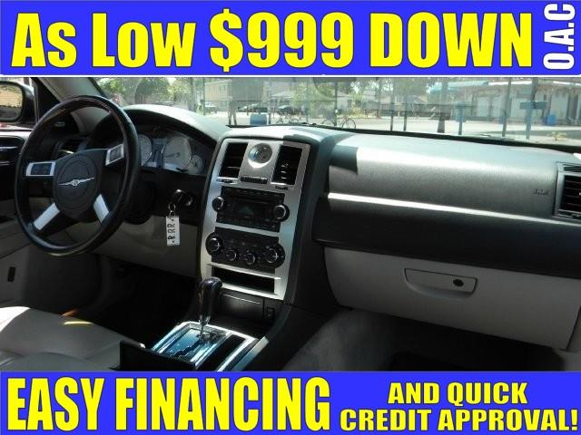 2007 CHRYSLER 300 C 4DR SEDAN blue limited warranty included to assure your worry-free purchase