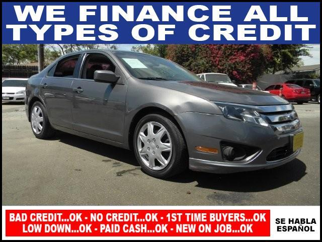 2010 FORD FUSION SE 4DR SEDAN gray limited warranty included to assure your worry-free purchase a
