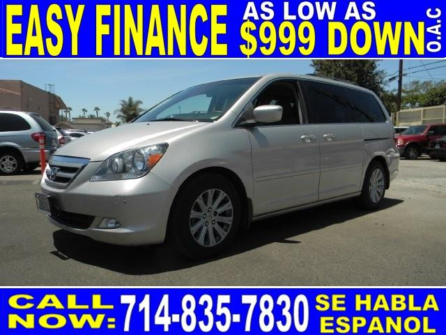 2007 HONDA ODYSSEY TOURING 4DR MINI VAN silver limited warranty included to assure your worry-fre