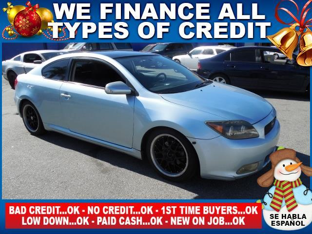 2007 SCION TC blue limited warranty included to assure your worry-free purchase autocheck report
