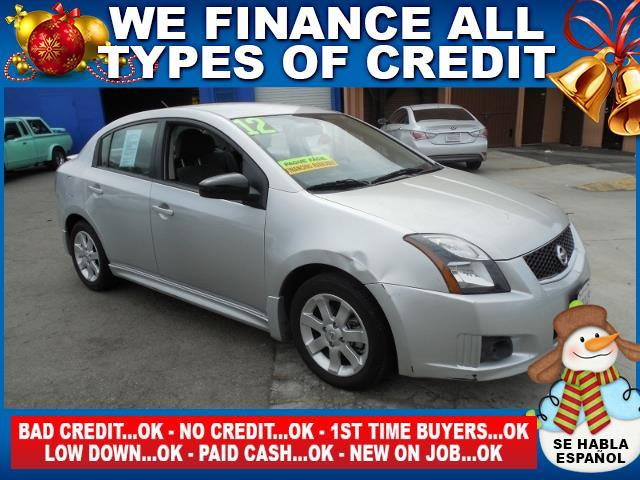 2012 NISSAN SENTRA 20 SR 4DR SEDAN silver limited warranty included to assure your worry-free pu