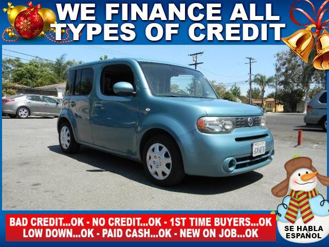 2010 NISSAN CUBE 18 S 4DR WAGON CVT blue limited warranty included to assure your worry-free purc