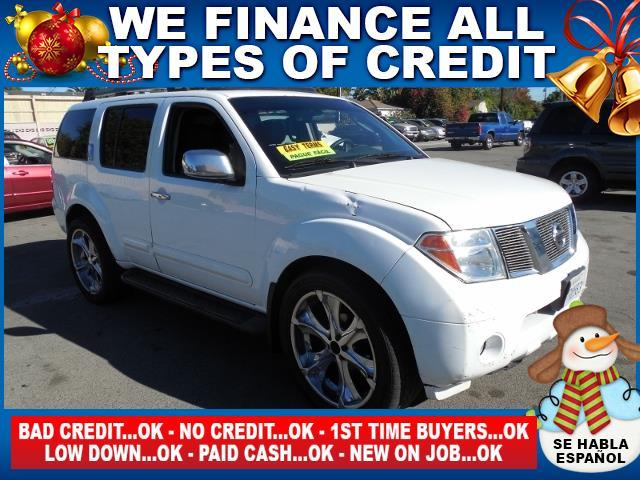 2005 NISSAN PATHFINDER LE 4DR SUV white limited warranty included to assure your worry-free purch