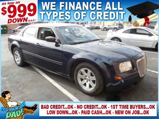 2005 CHRYSLER 300 BASE RWD 4DR SEDAN blue limited warranty included to assure your worry-free pur