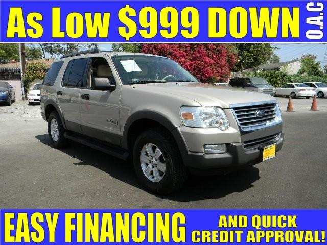 2006 FORD EXPLORER XLT 4DR SUV WV8 gold plimited warranty included to assure your worry-free pur