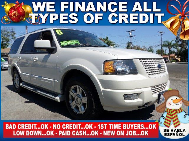 2006 FORD EXPEDITION LIMITED 4DR SUV 4WD white limited warranty included to assure your worry-fre