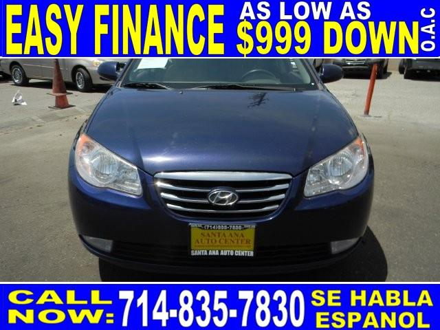 2010 HYUNDAI ELANTRA BLUE 4DR SEDAN blue limited warranty included to assure your worry-free purc