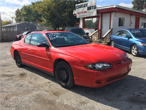 2001 Chevrolet Monte Carlo for sale in Kansas City, MO