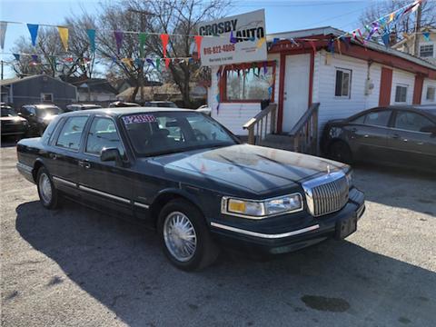 Lincoln town car for sale in kansas city mo carsforsale 1997 lincoln town car for sale in kansas city mo publicscrutiny Gallery