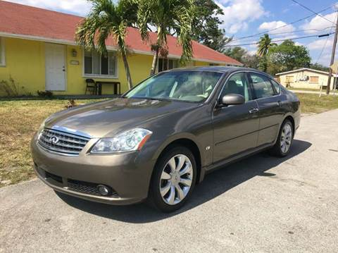 2007 Infiniti M35 for sale in Davie, FL
