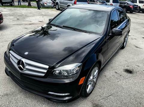 2009 Mercedes-Benz C-Class for sale in Fort Lauderdale, FL