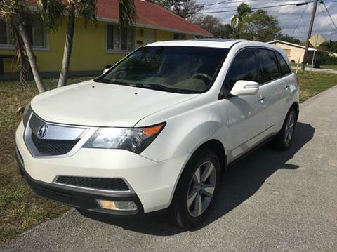 2011 acura mdx for sale florida. Black Bedroom Furniture Sets. Home Design Ideas