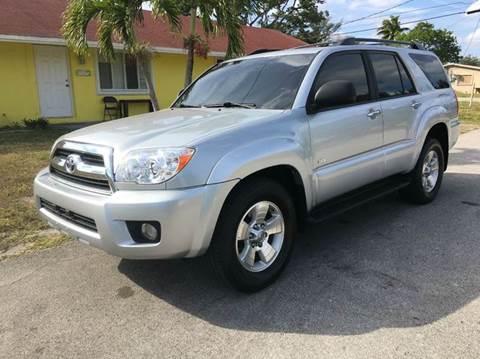 2007 Toyota 4Runner for sale in Davie, FL
