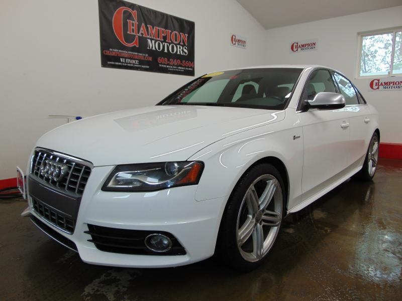 2011 audi s4 for sale in waynesville nc for Champion motors amherst nh