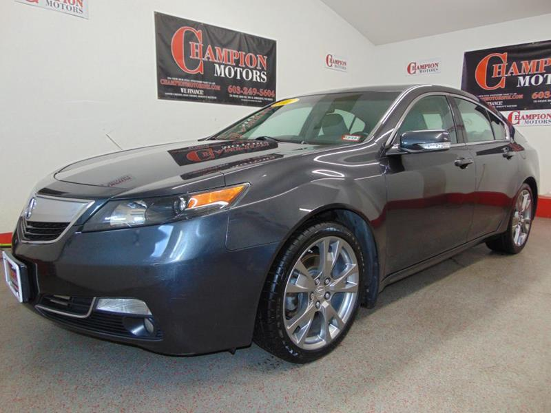 Acura tl for sale in new hampshire for Champion motors amherst nh