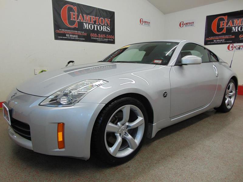 Used nissan 350z for sale for Champion motors amherst nh