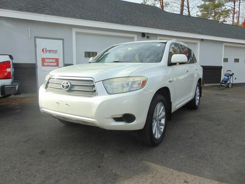Toyota highlander hybrid for sale in new hampshire for Champion motors amherst nh