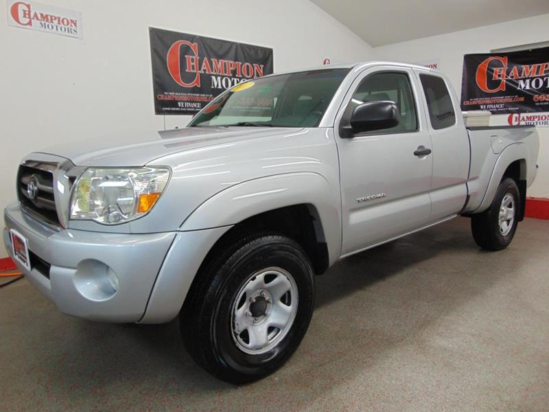 2007 toyota tacoma for sale for Champion motors amherst nh