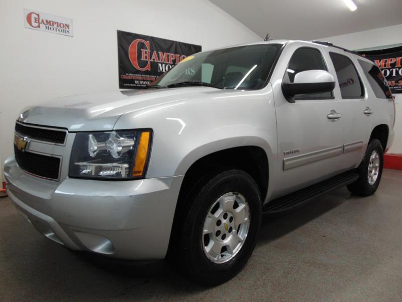 Used chevrolet tahoe for sale in new hampshire for Champion motors amherst nh