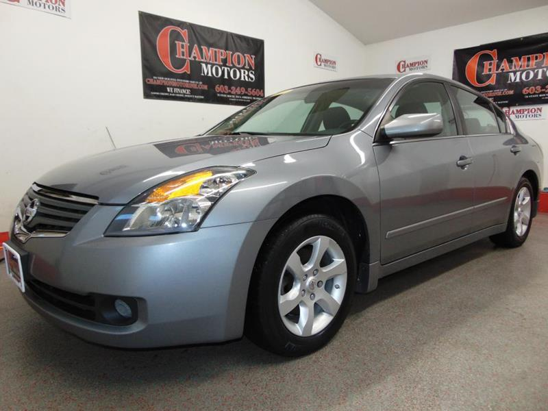 Nissan altima for sale in amherst nh for Champion motors amherst nh
