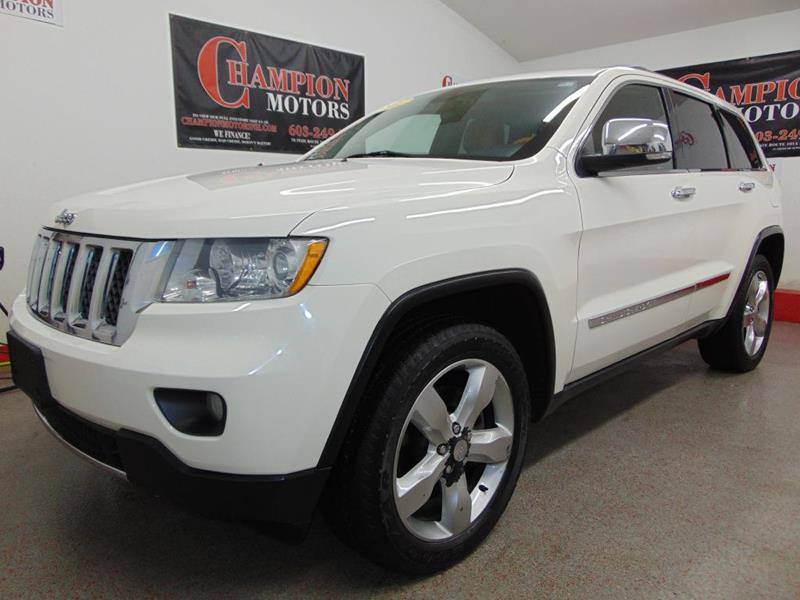 Jeep grand cherokee for sale in amherst nh for Champion motors amherst nh