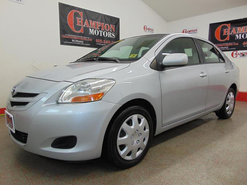 Used toyota yaris for sale in new hampshire for Champion motors amherst nh