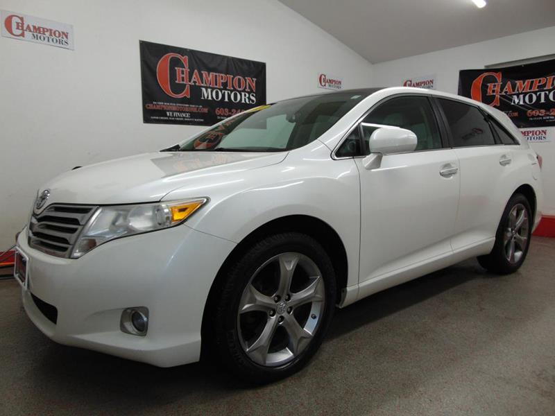 2010 toyota venza for sale in new hampshire for Champion motors amherst nh