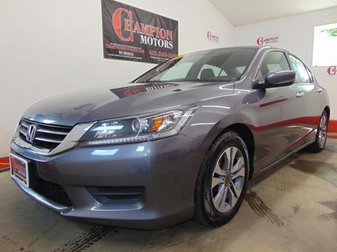 2015 Honda Accord for sale in Amherst, NH