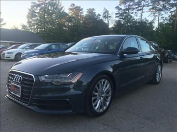 2012 audi a6 for sale for Champion motors amherst nh