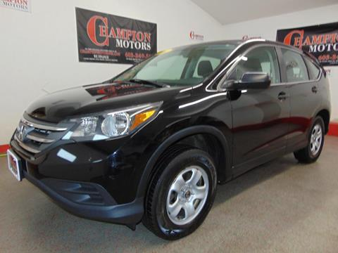 2012 honda cr v for sale in new hampshire for Champion motors amherst nh