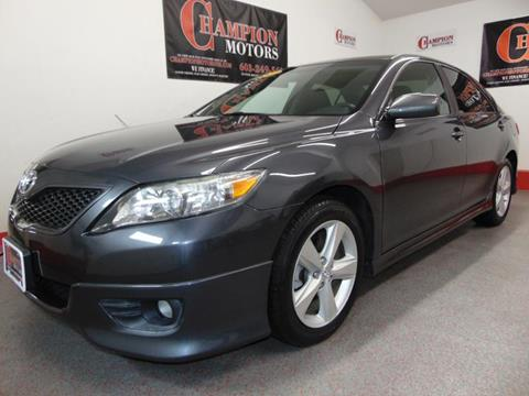 Toyota camry for sale in new hampshire for Champion motors amherst nh