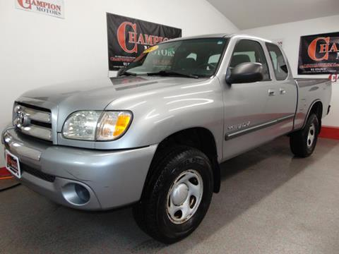 2003 toyota tundra for sale for Champion motors amherst nh