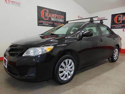 2012 toyota corolla for sale in new hampshire for Champion motors amherst nh