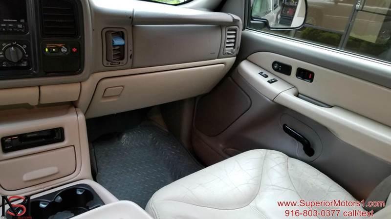 2002 GMC Yukon 4dr SLT 4WD SUV - Rancho Cordova CA