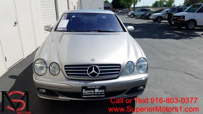 2004 Mercedes-Benz CL-Class CL 500 2dr Coupe - Rancho Cordova CA