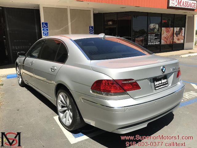 2008 BMW 7 Series 750Li 4dr Sedan - Rancho Cordova CA