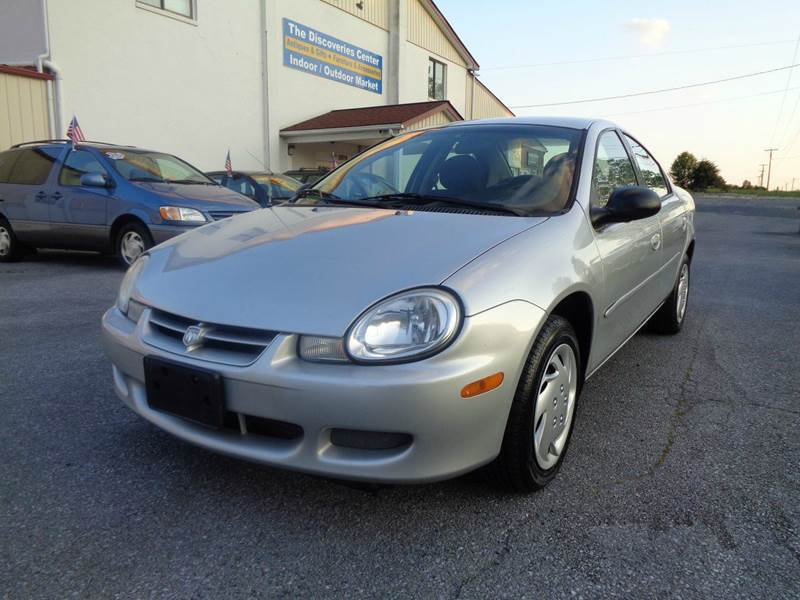 2002 dodge neon se 4dr sedan in strasburg va supermax autos. Black Bedroom Furniture Sets. Home Design Ideas
