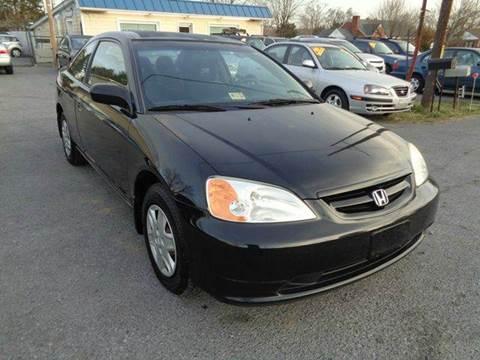 2003 Honda Civic for sale in Strasburg, VA