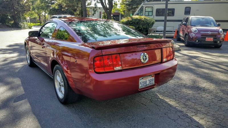 2007 ford mustang v6 deluxe 2dr coupe in hayward ca norcal auto sold publicscrutiny Image collections