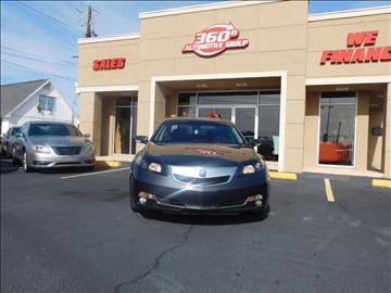 2012 Acura TL for sale in Macon, GA