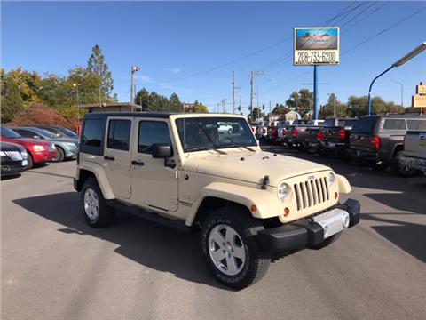 2011 Jeep Wrangler Unlimited for sale in Twin Falls, ID
