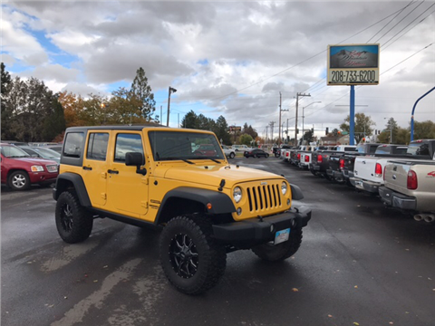 2015 Jeep Wrangler Unlimited for sale in Twin Falls, ID
