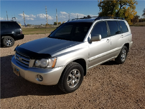 2001 Toyota Highlander for sale in Rapid City, SD