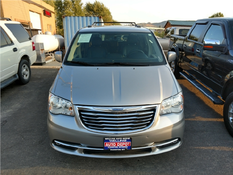 2016 Chrysler Town and Country for sale in Evanston, WY